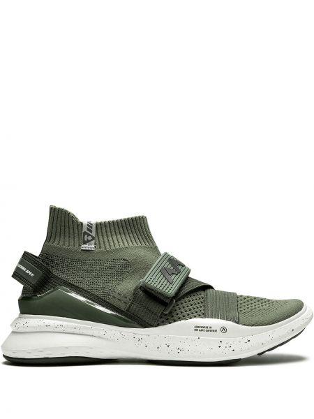 Zielone wysoki sneakersy Aape