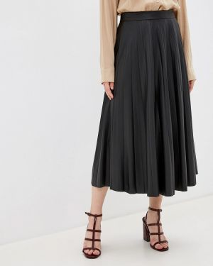 Плиссированная юбка черная Ovs