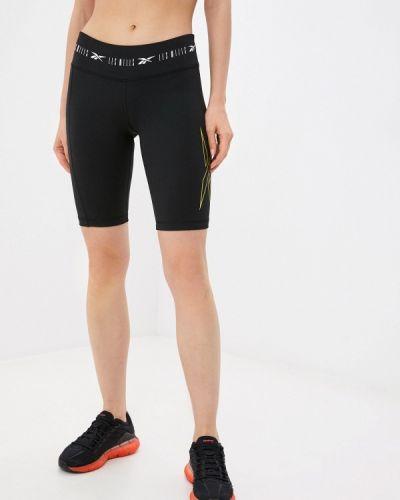 Черные спортивные шорты Reebok