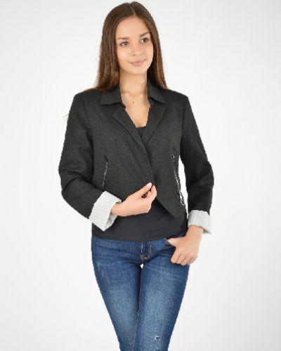 Черный пиджак с подкладкой из вискозы Cop.copine