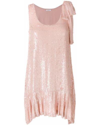 Платье с пайетками с оборками P.a.r.o.s.h.