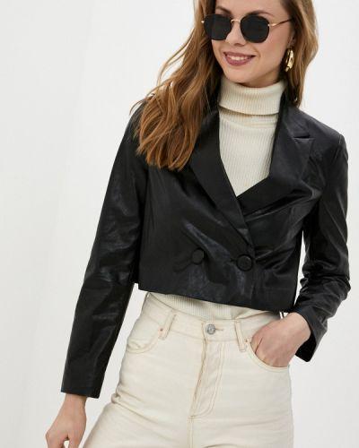 Черный пиджак Sisley