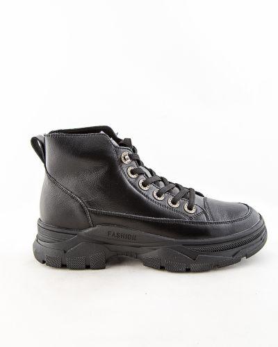Черные ботинки осенние Prima D'arte