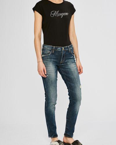 Джинсы-скинни с эффектом потертости Guess Jeans
