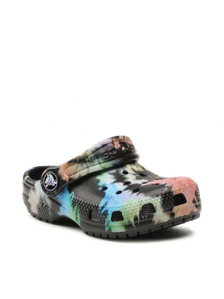 Klasyczne czarne sandały Crocs