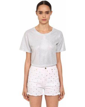 Рубашка с воротником-стойкой Alexandre Vauthier