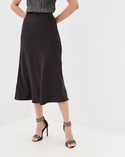 Черная юбка свободного кроя Zarina