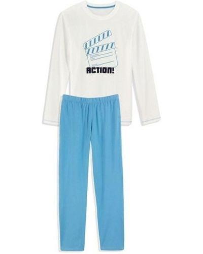 Пижама со штанами - белая Royal Class