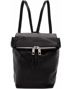 Кожаный рюкзак текстильный на молнии Rag & Bone