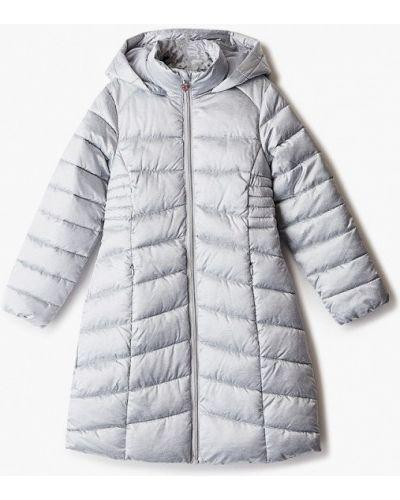 Утепленная серая куртка Acoola
