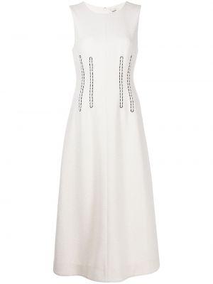 Хлопковое платье - белое Jason Wu