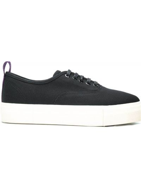 Bawełna bawełna czarny sneakersy Eytys