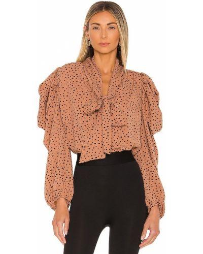 Черная блузка винтажная Line & Dot