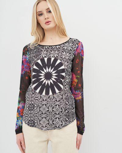 Нарядная футболка с длинными рукавами Desigual
