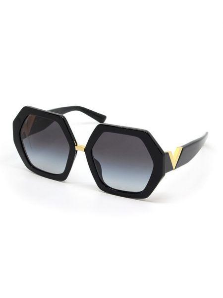 Черные очки летние Valentino