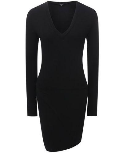 Хлопковое платье - черное Monrow