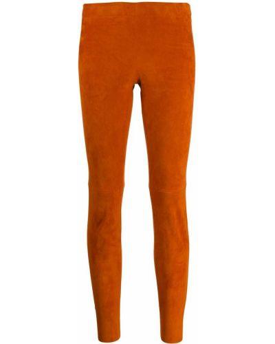 Оранжевые леггинсы Stouls