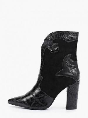 Черные полуботинки осенние Ideal Shoes®