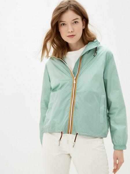 Бирюзовая облегченная куртка Adrixx