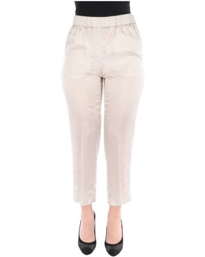 Białe spodnie Cappellini