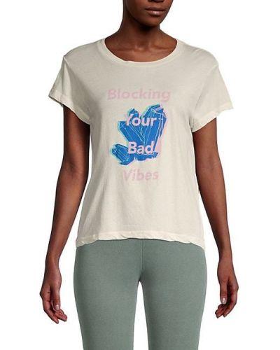 Хлопковая футболка винтажная с короткими рукавами Wildfox
