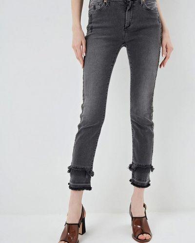 Прямые джинсы турецкий серые True Religion