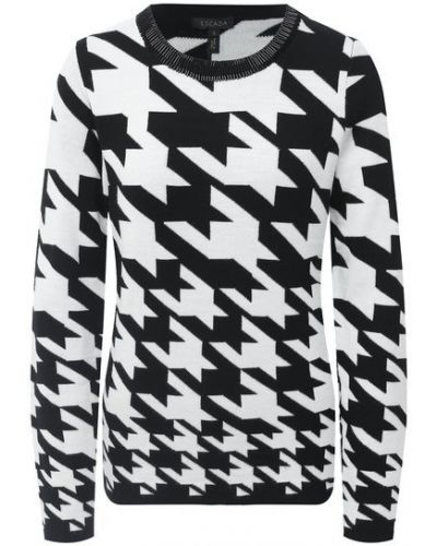 Пуловер жаккардовый Escada