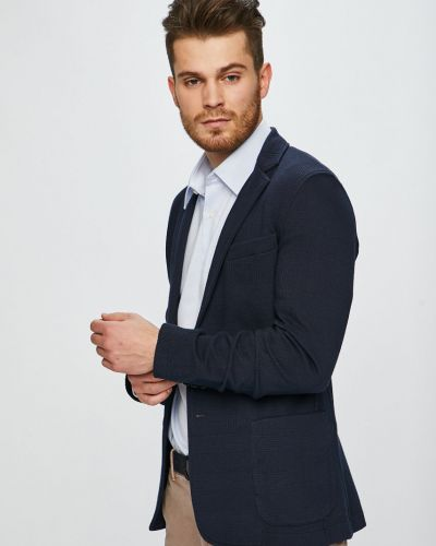 Dżinsowa garnitur długo z kieszeniami Trussardi Jeans