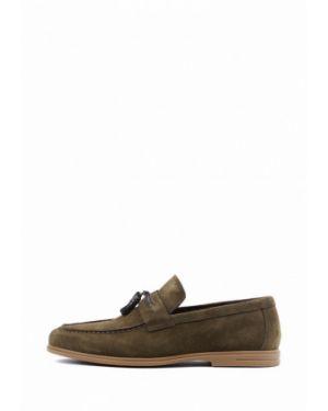 Зеленые туфли Leberdes