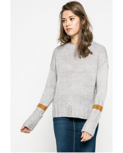 Вязаный свитер свободного кроя в полоску Noisy May