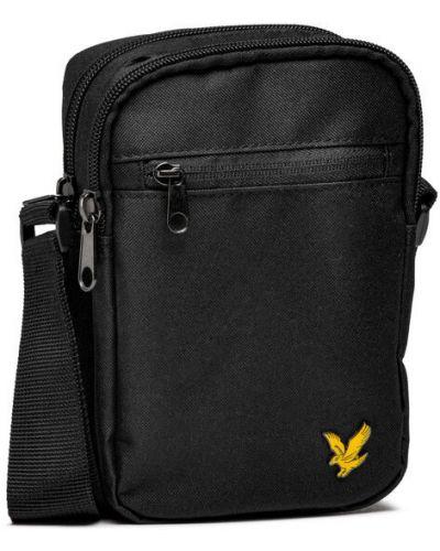 Czarny plecak Lyle & Scott