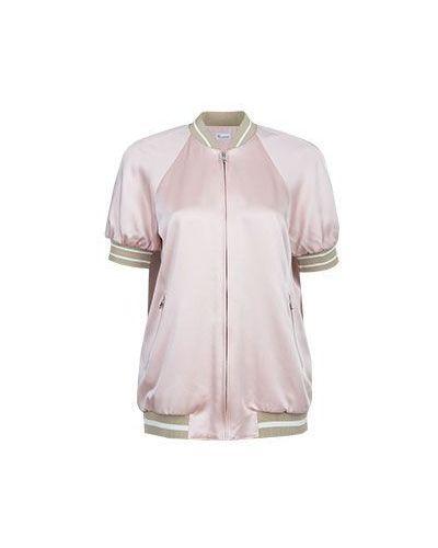 Розовый бомбер Valentino Red