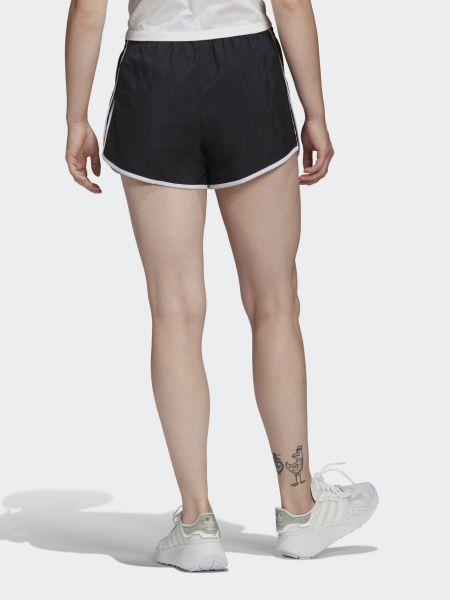 Нейлоновые шорты - черные Adidas