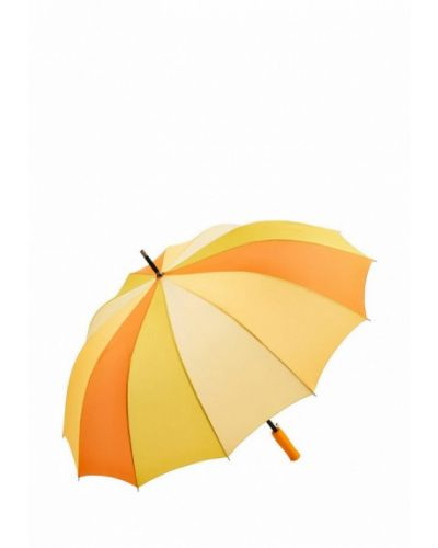 Зонт-трость желтый Fare