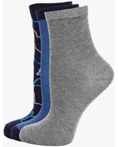 Носки синие серые Infinity Kids
