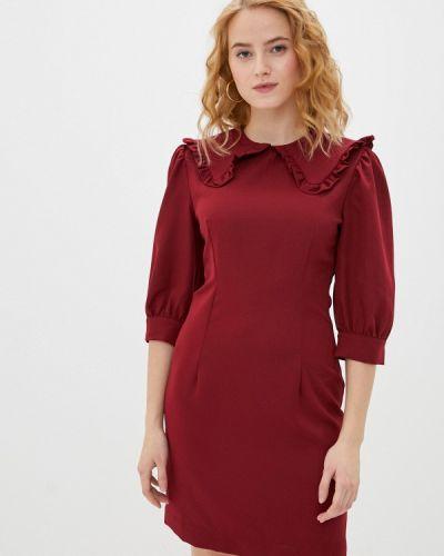 Красное платье-футляр Imocean