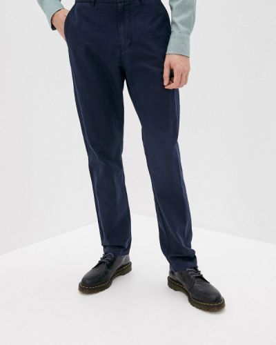 Классические брюки - синие Gant