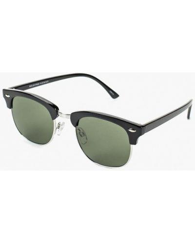 Солнцезащитные очки черные Selected Homme