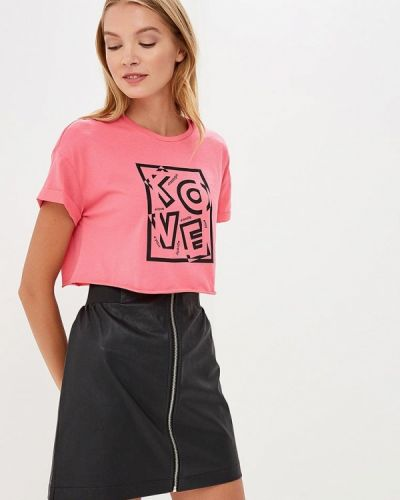 Розовая футболка 2019 Befree