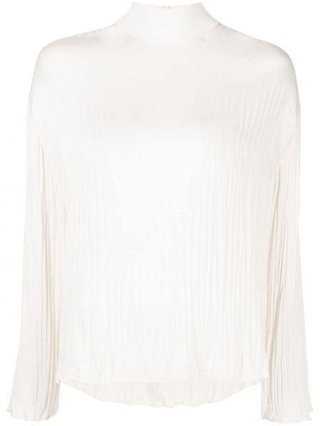 Biała bluzka z szyfonu Vince