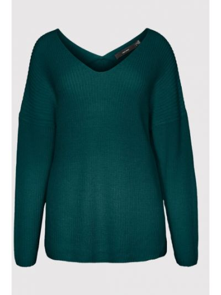 Zielony sweter Vero Moda Curve