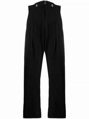 Шерстяные брюки - черные Vivienne Westwood