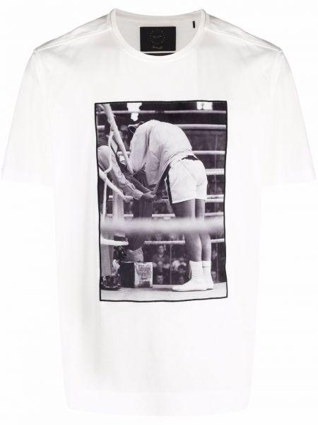 Biała t-shirt bawełniana Limitato