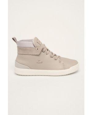 Теплые ботинки на каблуке Lacoste