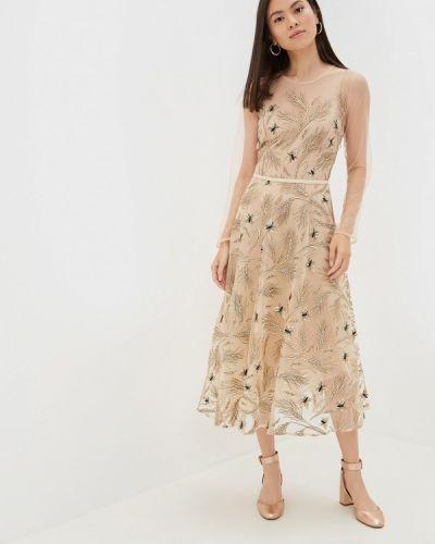 Вечернее платье бежевое Ksenia Knyazeva