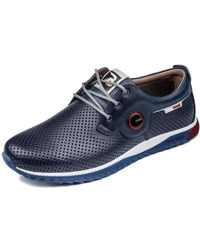 Туфли на каблуке - синие Bumer
