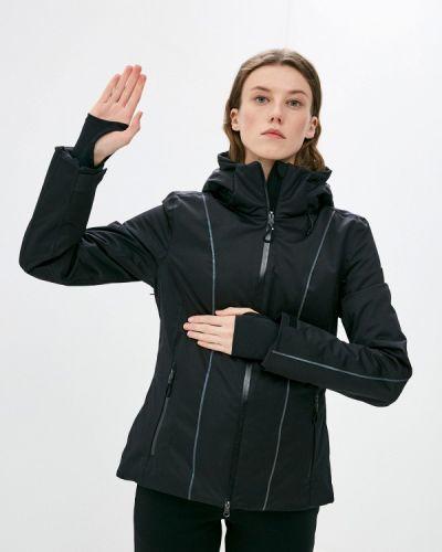 Черная куртка горнолыжная Ea7