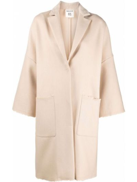 Шерстяное пальто Semicouture