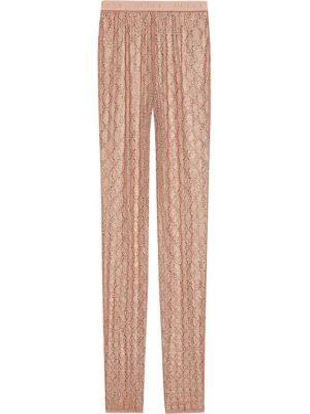 Legginsy elastyczny z nadrukiem Gucci