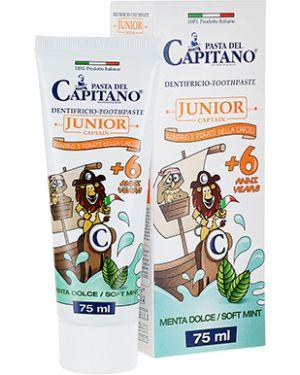 Детская зубная паста мятный очищающий Pasta Del Capitano